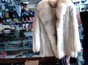 FLETCHER & BENSKY Clothing SHORT BLUE FOX FUR COAT